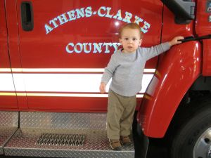 Proud to visit the Athens-Clarke Co. Fire Hall