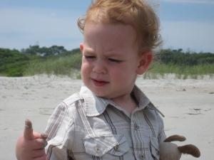 Sand. Hmmm.