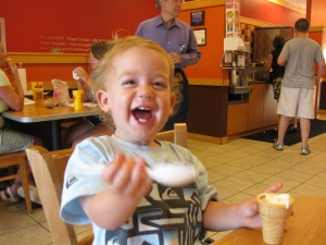Ice cream euphoria!