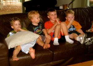 Colin, Nash, Cooper, and Ian
