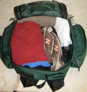 1 backpack. 10 days.